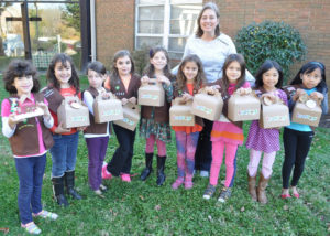 Girl Scouts Troop 1845.
